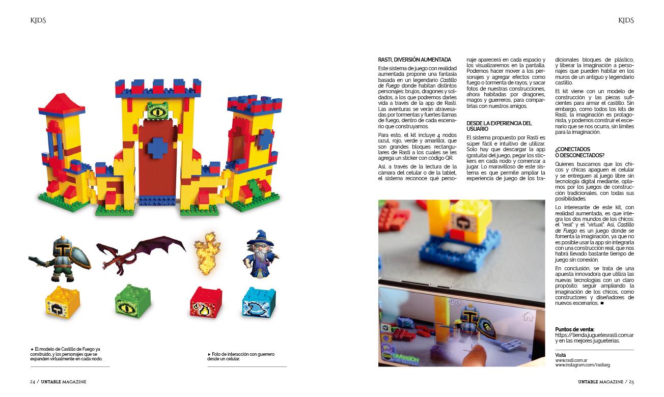 Rasti en Untable Magazine